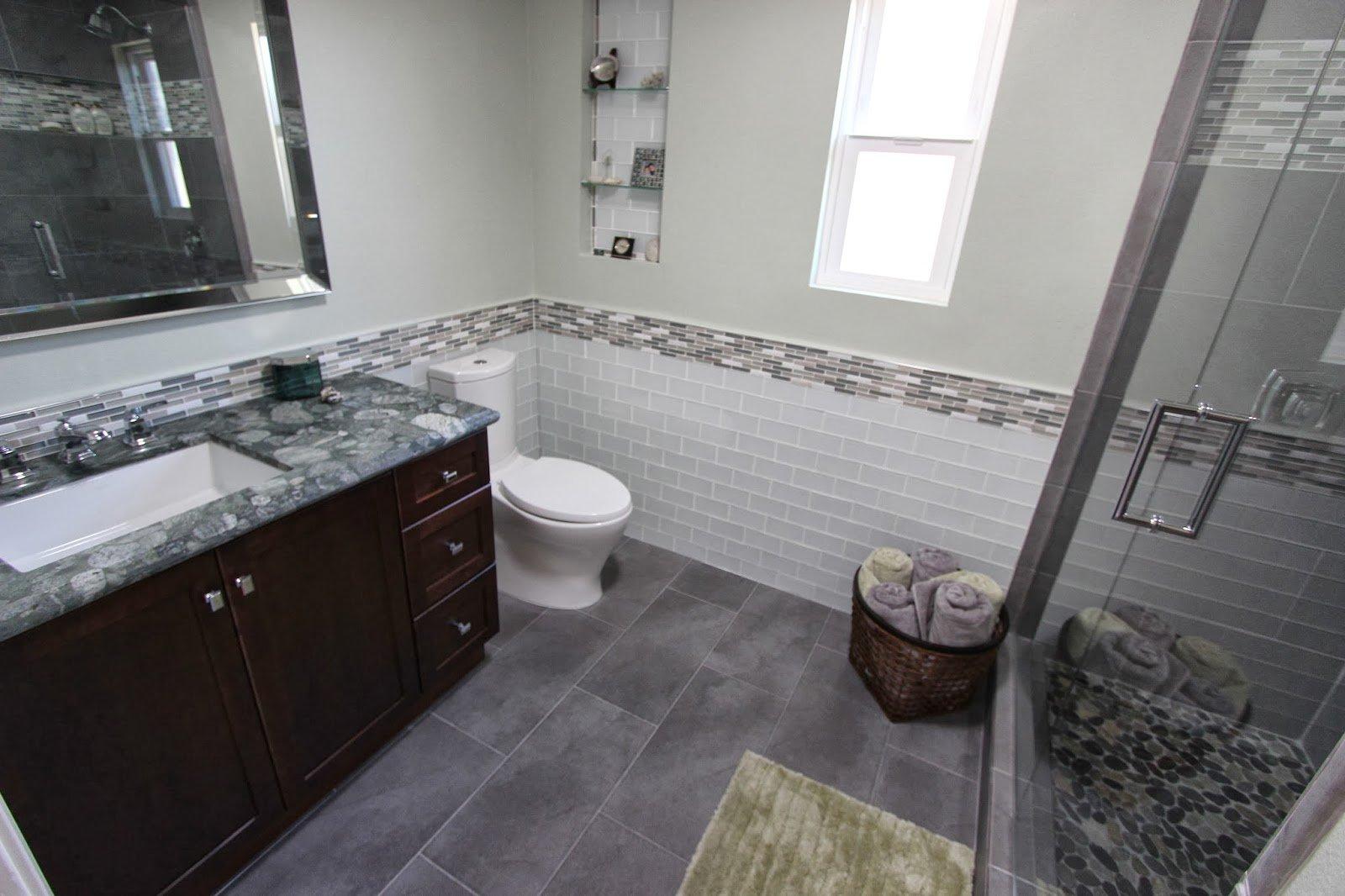 Brightening a Small Bathroom Complete Bathroom Remodel in San Diego, CA, San Diego CA   Over 25 ...