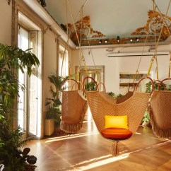 Swing Chair Patricia Urquiola Padded Shower With Armrests Louis Vuitton Travel Accessories Objets Nomades Cn Traveller