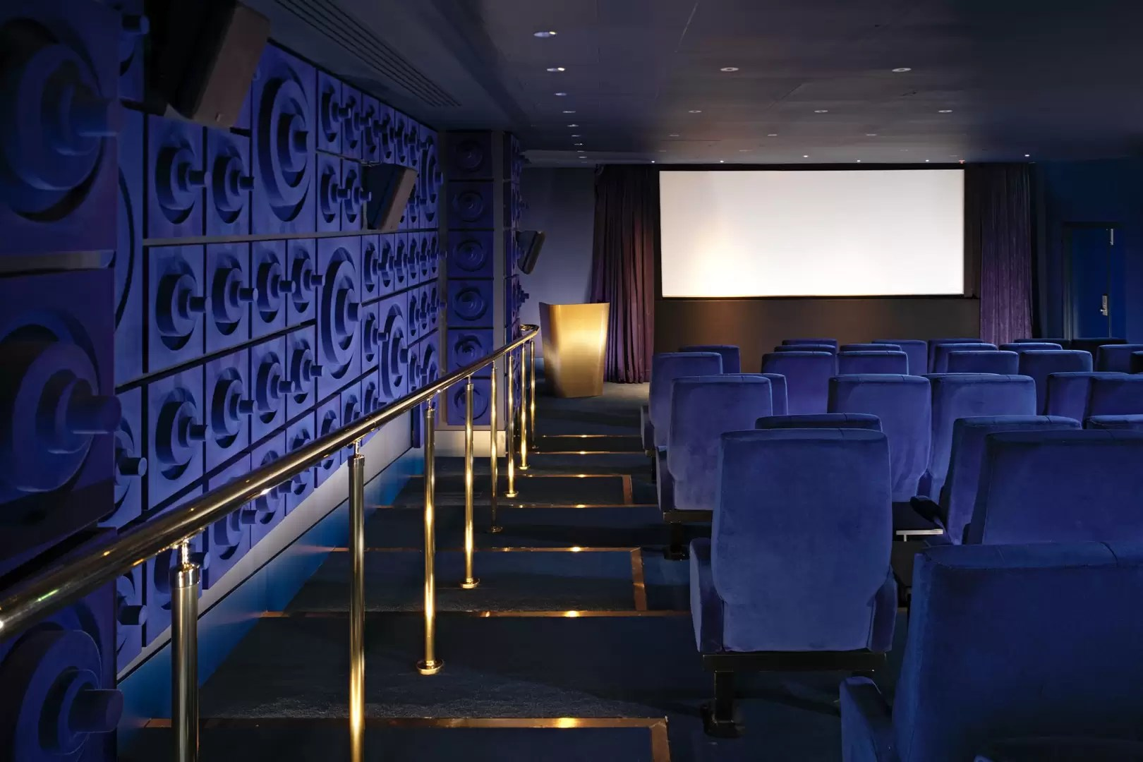 east london sofa cinema violino leather stockists the best hotels with in house cinemas where to watch films 6