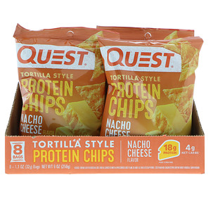 Quest Nutrition, Original Style Protein Chips Nacho Cheese
