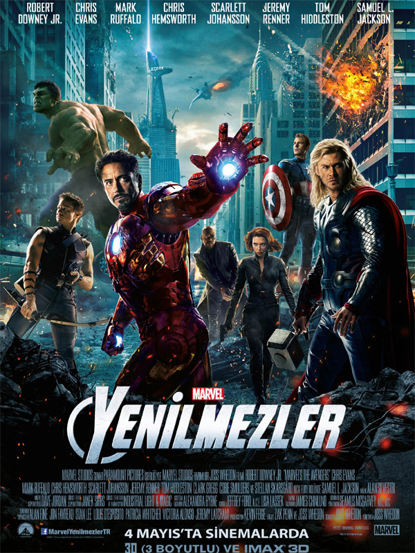 Yenilmezler - The Avengers - Beyazperde.com