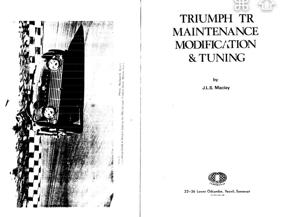Triumph Tr3a Wiring Diagram, Triumph, Free Engine Image