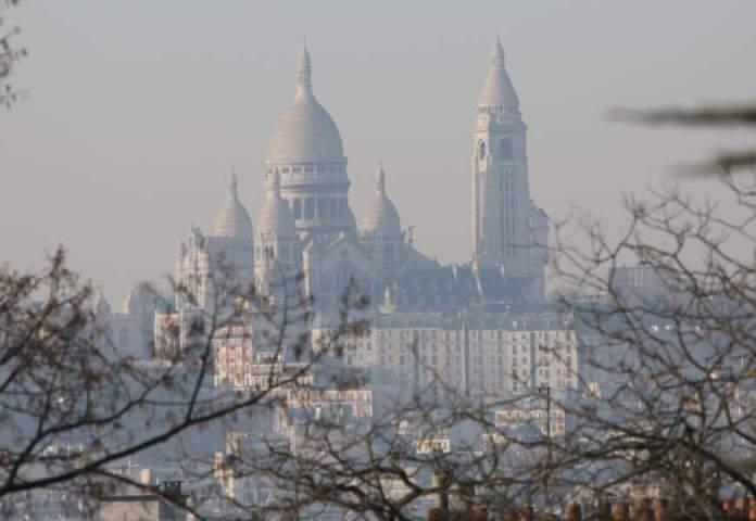 La basilique du Sacré-Cœur, Paris, le 8 décembre 2016