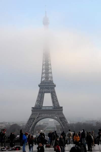 La Tour Eiffel, Paris, le 10 décembre 2016