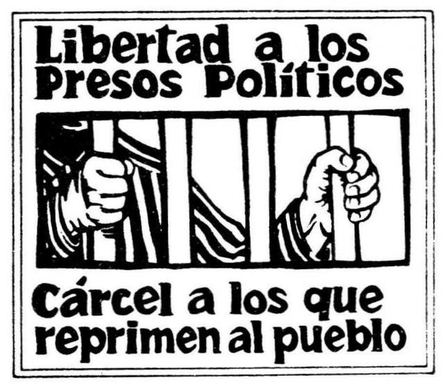 México: Libertad a los presos políticos del país