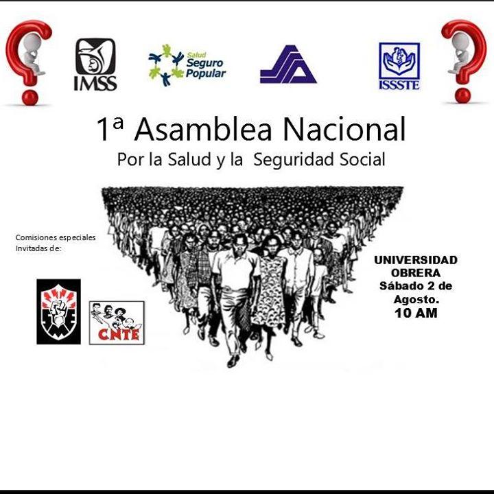 México: ASAMBLEA NACIONAL POR SALUD Y SEGURIDAD SOCIAL 2