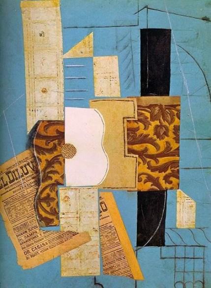 Picasso. Cubismo sintético