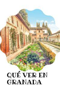 Granada lugares para visitar