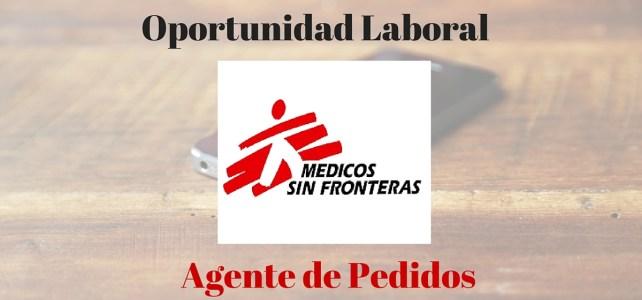 Médicos Sin Fronteras lanza convocatoria: Agente de Pedidos