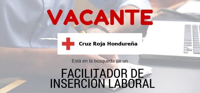 La Cruz Roja de Hondura busca facilitador de inserción laboral