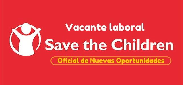 Vacante laboral con Save the Children en Colombia