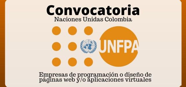 El Fondo de Población de las Naciones Unidas (UNFPA) busca diseñador de aplicaciones moviles ! para los amantes de las apps