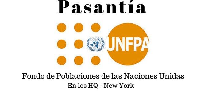 Pasantía con el Fondo de Poblaciones de Naciones Unidas (UNFPA) en HQ New York