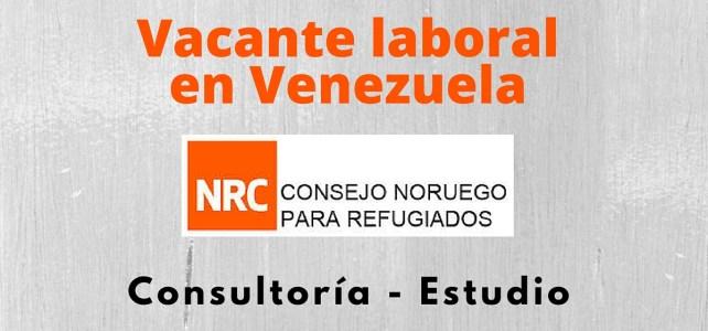 El Consejo Noruego para Refugiados abre vacante laboral en Venezuela