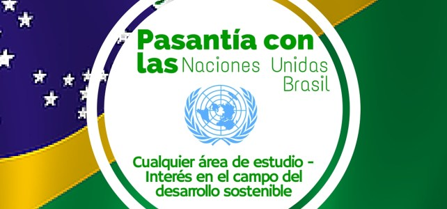 Programa de pasantías con Naciones Unidas en Brasil – sin restricción de nacionalidad