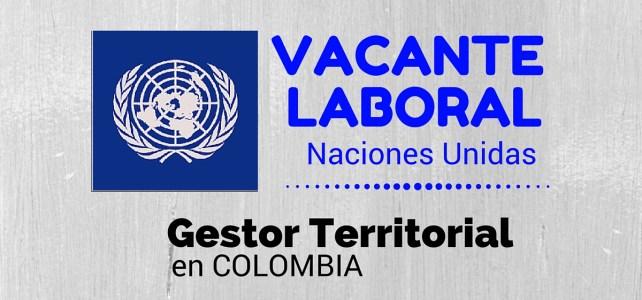 La Oficina de las Naciones Unidas contra la Droga y el Delito (UNODC) busca profesional en Colombia