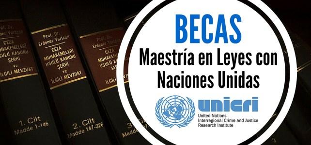 Becas para cursar maestrías en leyes con las Naciones Unidas