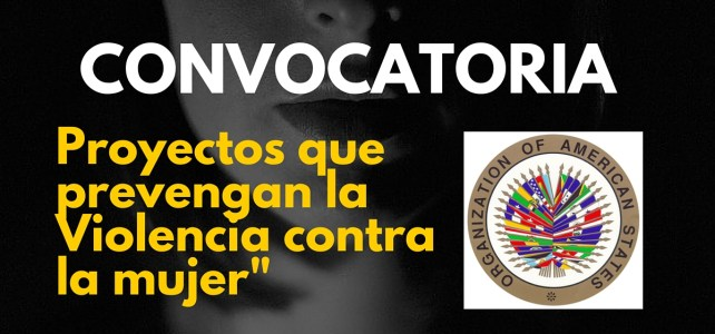 La OEA premia proyectos que prevengan la violencia contra la mujer