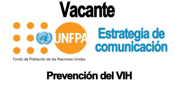 Vacante  movilización social para la prevención del VIH