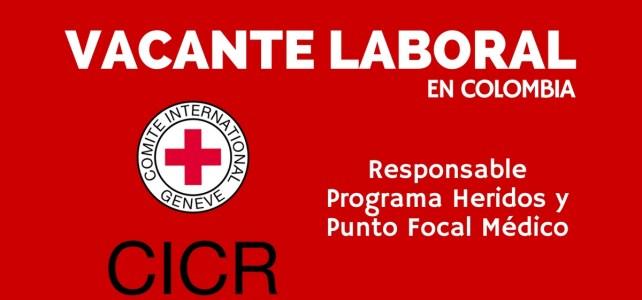 Vacante laboral con el Comité Internacional de la Cruz Roja en Colombia
