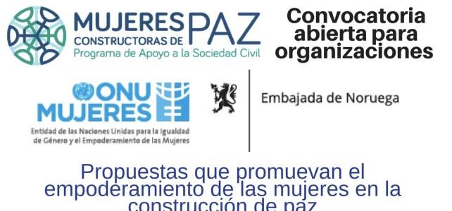 ONU MUJERES abre Convocatoria para organizaciones que promuevan el empoderamiento de las mujeres