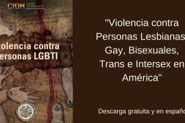 VIOLENCIA CONTRA LAS PERSONAS LGBTI