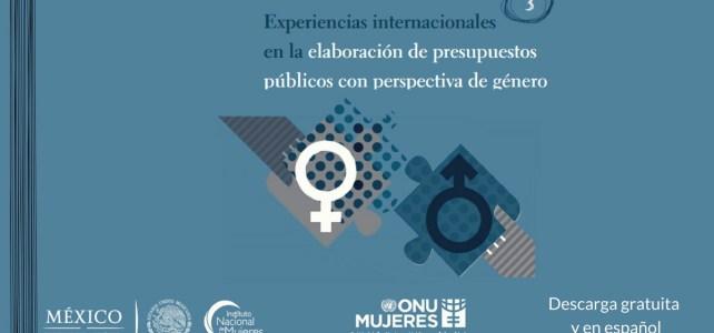 """""""Experiencias internacionales en la elaboración de presupuestos públicos con perspectiva de género"""""""