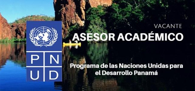 Vacante Asesor Académico de la Academia de Gobierno de Panamá