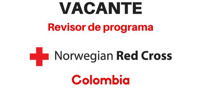 Revisor de programa Cruz Roja Noruega