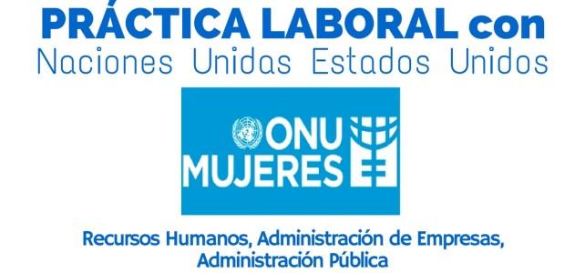 Práctica laboral con ONU Mujeres