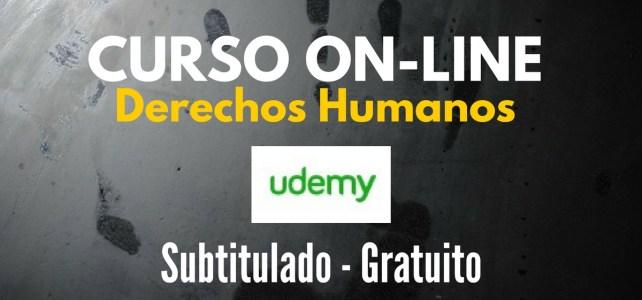 Curso online y gratuito sobre derecho humanos internacionales