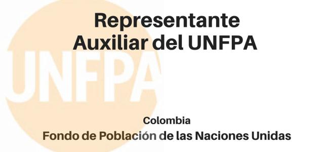 Convocatoria Representante Auxiliar del UNFPA