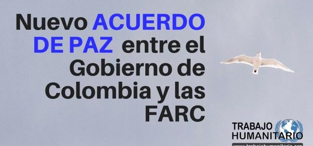 Texto completo del NUEVO acuerdo de paz entre el Gobierno y las Farc