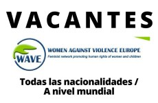 Convocatoria abierta con WAVE – Women Against Violence Europe