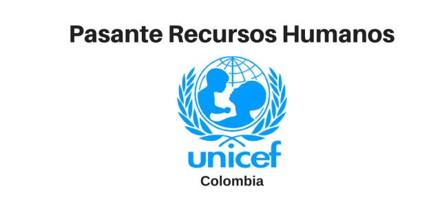 Pasante recursos humanos UNICEF