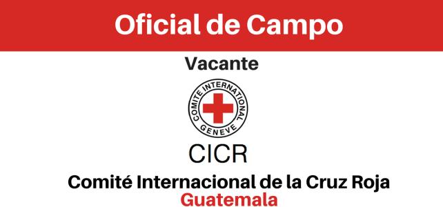 Convocatoria del CICR Oficial de Campo