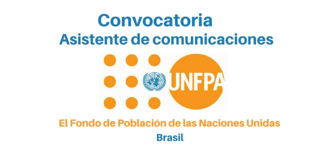 Convocatoria Asistente de comunicaciones  (UNFPA)