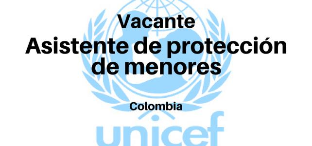Vacante asistente de protección de menores con UNICEF