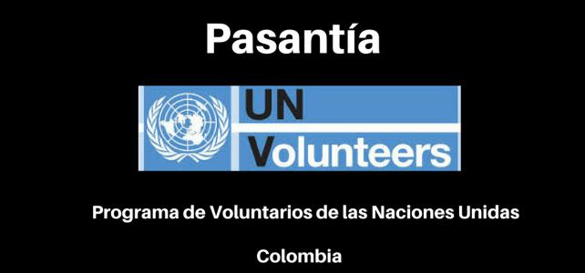 Pasantía con VNU – Naciones Unidas