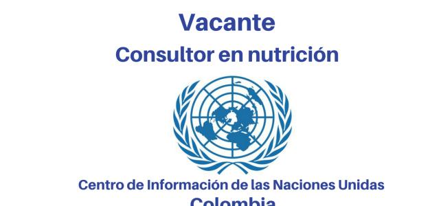 Consultoría en Nutrición con la OIM