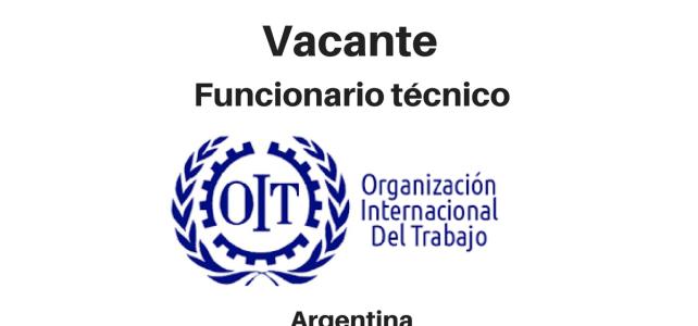 Vacante Funcionario Técnico en Proyectos con la OIT