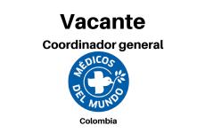 Vacante laboral en Colombia con Médicos del mundo
