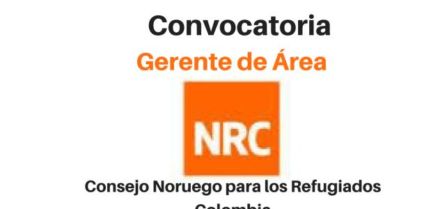 Vacante laboral con el Consejo Noruego para Refugiados – NRC