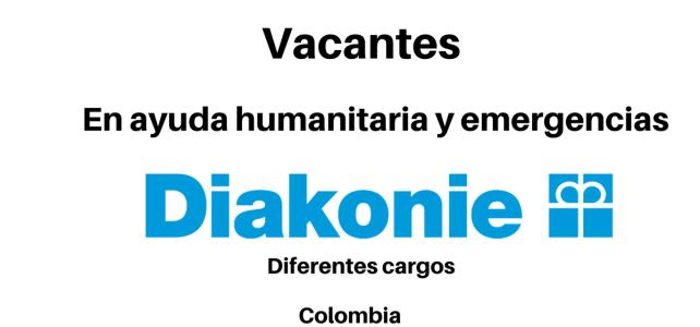 Vacantes en ayuda humanitaria y emergencias con Diakonie