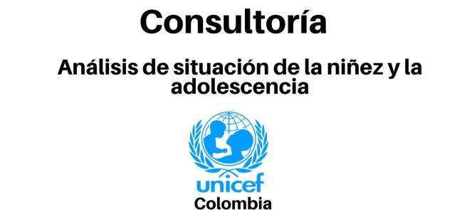 Consultoría Análisis de situación de la niñez y la adolescencia con la UNICEF