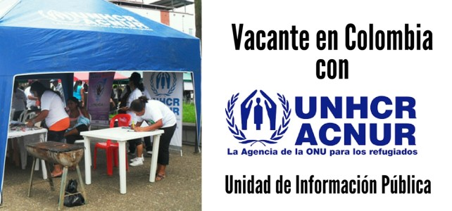 Vacante en Colombia con ACNUR