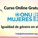 CURSO ONLINE ONU MUJERES IGUALDAD DE GÉNERO