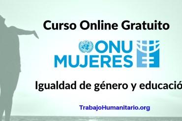 CURSO ONLINE ONU MUJERES IGUALDAD EDUCACIÓN
