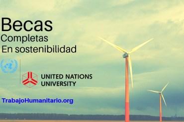 Becas sostenibilidad