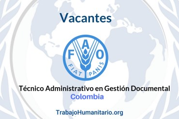 Vacantes FAO Colombia